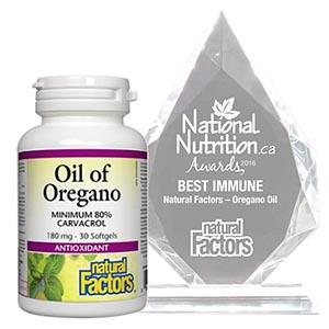 Natural Factors – Oregano Oil