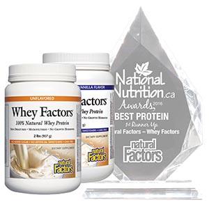 Natural Factors – Whey Factors