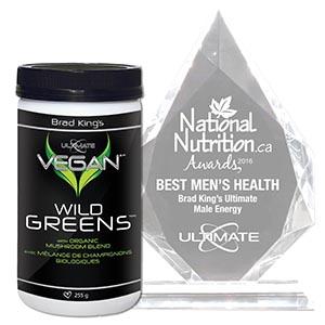 Brad King's Ultimate – Vegan Wild Greens